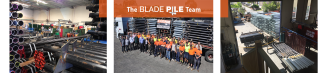 Blade Pile Team & Screw Pile Manufacturing